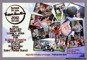 Flyer Festival Parmi Nous 2012